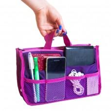 Вкладыш в сумку 29*19*8 см (фиолетовый)