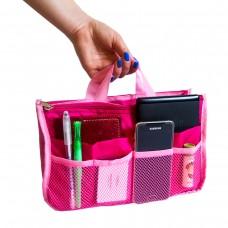 Органайзер для сумки 29*19*8 см (розовый)