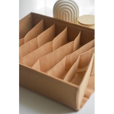 Купить коробку для хранения бюстиков (бежевый)