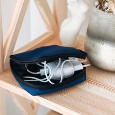 Органайзер для мелочей 11*11*2 см (синий)