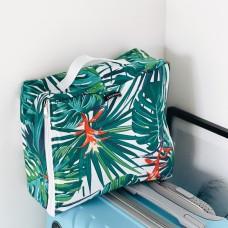 Средняя хлопковая сумка для вещей 30*27*12 см (джунгли)
