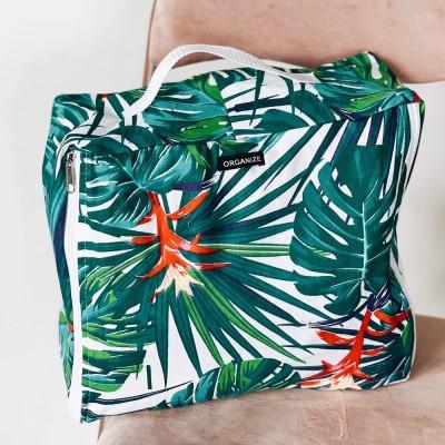 Купить большую сумку для хранения одежды 40*31*15 см (джунгли)