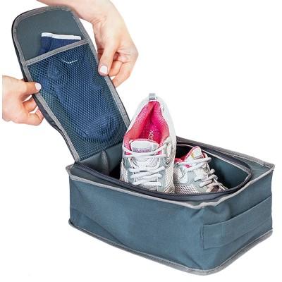 Купить органайзер для обуви для путешествий (серый)
