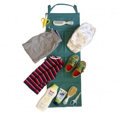Купить кармашки для детского сада (зеленый)