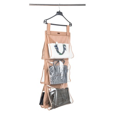 Купить подвесной органайзер для хранения сумок L (бежевый)