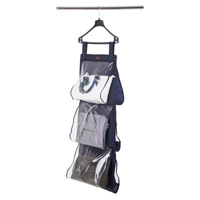 Купить подвесной кофр для хранения сумок L  (синий)