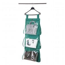 Кофр подвесной для хранения сумок L (лазурь)