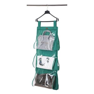Купить кофр подвесной для хранения сумок L - 94*40 см (лазурь)