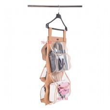 Подвесной органайзер для хранения сумок Plus (бежевый)