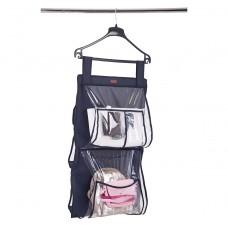 Подвесной органайзер для хранения сумок Plus - 70*40 см (синий)