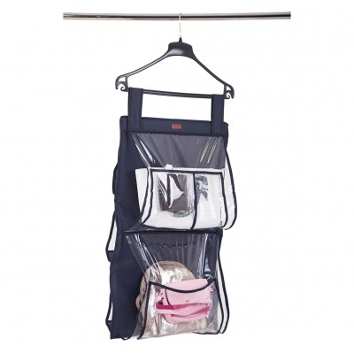 Купить подвесной органайзер для хранения сумок Plus - 70*40 см (синий)
