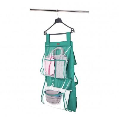 Купить подвесной органайзер для хранения сумок Plus (лазурь)