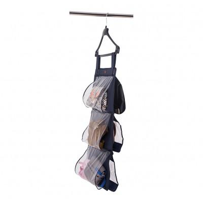 Купить подвесной органайзер для хранения сумок S - 70*40 см (синий)