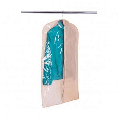 Купить чехол для одежды 60*100 см (бежевый)