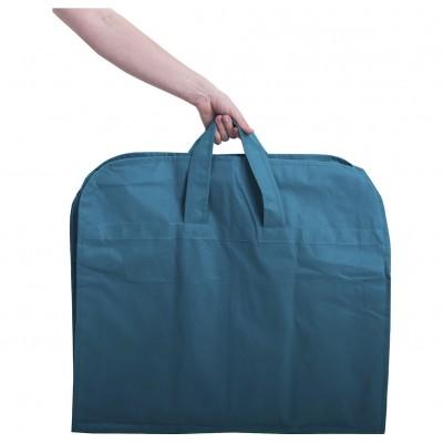 Купить чехол для одежды с ручками 110*10 см (лазурь)