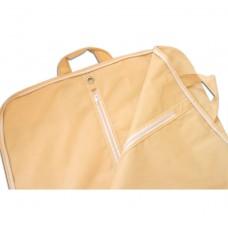 Складной чехол для перевозки одежды с ручками длина 130 см (бежевый)