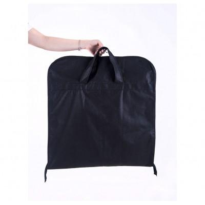 Складной кофр для одежды с ручками длиной 130 см (черный)