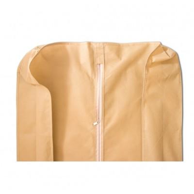 Купить чехол для объемной одежды с ручками длина 150 см с бортом (бежевый)