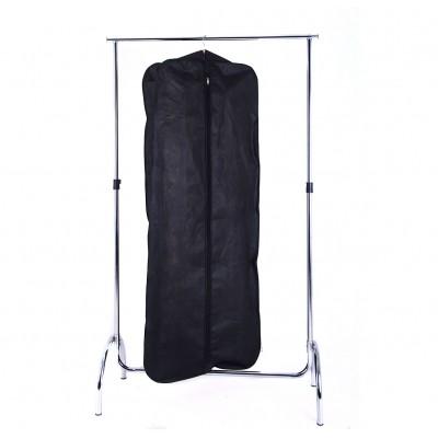 Купить чехол для объемной одежды с ручками 60*150*15 см (черный)