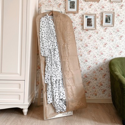 Купить кофр для одежды длина 150 см (бежевый)