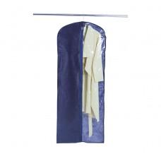 Чехол для хранения одежды длиной 150 см (синий)