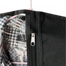 Чехол для куртки длина 75 см (черный)