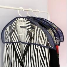 Комплект накидок-чехлов для одежды 3 шт (синий)