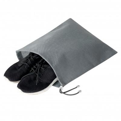 Купить мешок для обуви на затяжке 30*40 см (серый)