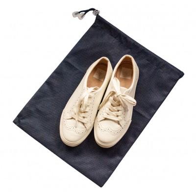 Купить мешок для обуви на затяжке 30*40 см (синий)