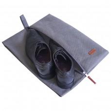 Объемный пыльник для обуви (серый)