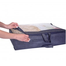 Упаковка для одеяла и подушек L - 70*50*20 см (синий)