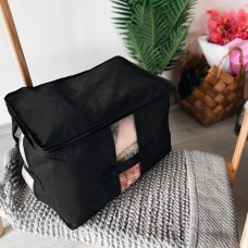Вместительная сумка для хранения вещей XL - 46*32*29 см (черный)