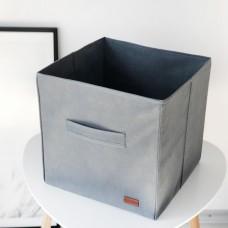 Текстильный кофр 30*30*30 см (серый)