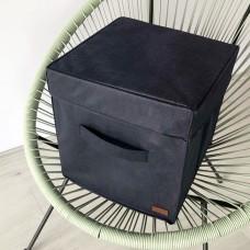 Короб с крышкой 30*30*30 см (синий)