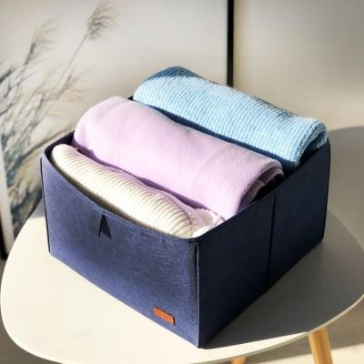 Купить текстильный органайзер для хранения вещей в шкафу