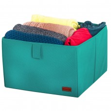 Коробка для хранения одежды L - 30*30*20 см (лазурь)