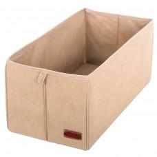 Текстильная коробка для хранения S (бежевый)