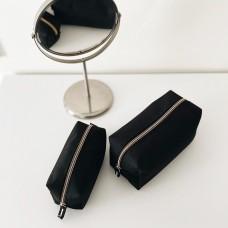 Набор косметичек 2 шт (черный)