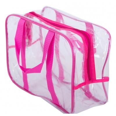 Купить компактную сумку в роддом (розовый)