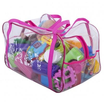 Купить сумку в роддом/для игрушек (розовый)