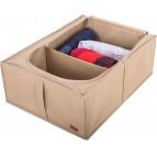 Купить кофры для хранения вещей в шкафу и под кроватью