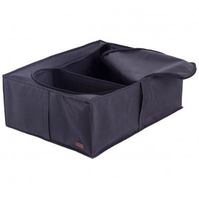 Купить кофр для хранения вещей со съемной перегородкой (черный)