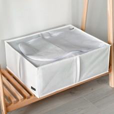 Органайзер для хранения вещей с крышкой 50*41*18 см (белый)