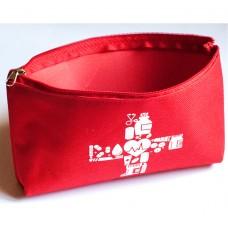 Органайзер для хранения лекарств 18*11 см (красный)