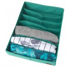 Коробка для маек и футболок 35*28*8 см (лазурь)