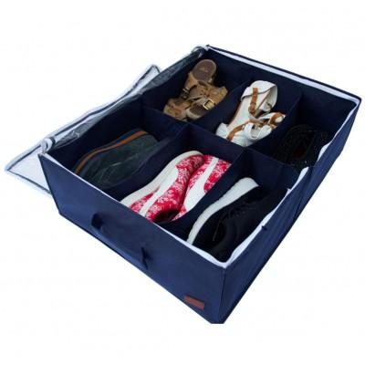 Купить органайзер-коробку для обуви на 6 пар (джинс)