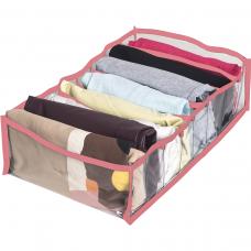 Прозрачный разделитель для хранения вещей L (розовый)