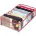 Прозрачный разделитель для хранения вещей (розовый)