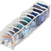 Прозрачный органайзер для носочков XS - 10*39*9 см (белый) | ORGANIZE