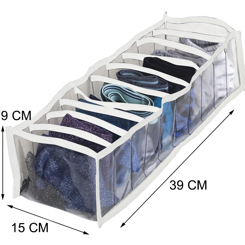 Прозрачный органайзер для белья